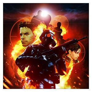 Resident Evil. Размер: 60 х 60 см